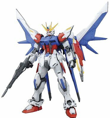 Bandai Hobby MG Build Strike Gundam Full Package Model Kit (1/100 Scale)