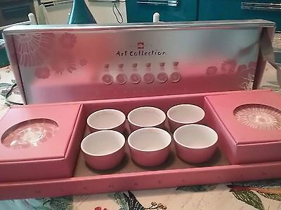 illy Art Collection by Michael Lin 2006 , 6 Espresso Cups, Rosenthal, NEU OVP!