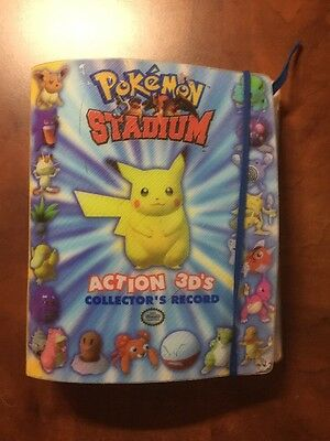 Pokemon Stadium Action 3D's Collectors Record FULL COLLECTION RARE