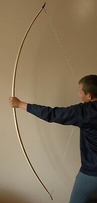 Triple laminated english longbow,warbow for order 20-120 lbs