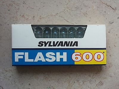 Sylvania Flash 600 - 10 bulbs - Polaroid 600