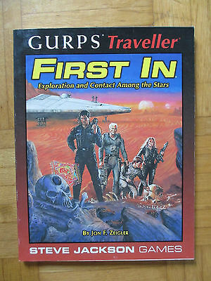 GURPS – Traveller FIRST IN - Steve Jackson Games 6605 – English - source book
