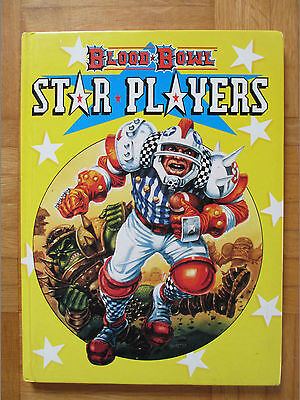 BLOOD BOWL STAR PLAYERS - Complete - Citadel Gw Guide sourcebook rule games rpg