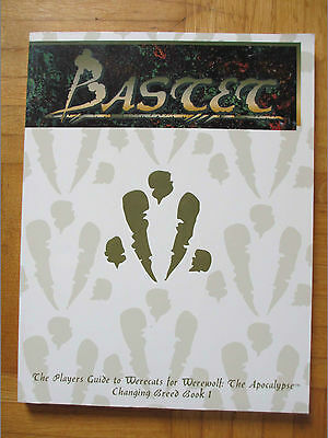 BASTET - Werewolf Apocalypse Player Guide White Wolf source Breed book rpg game