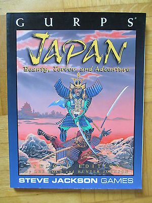 GURPS – JAPAN - Steve Jackson Games 6006 – English - role play action guide rpg