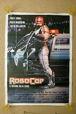 Robocop Large Vintage Italian Movie Poster