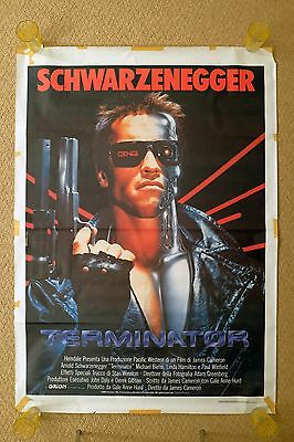Terminator Large Vintage Italian Movie Poster