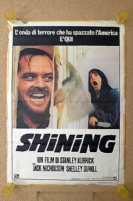 The Shining Large Vintage Italian Movie Poster