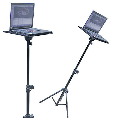 SoundLab Stands Portable Projector Laptop Stand Table Tripod DJ Disco Karaoke