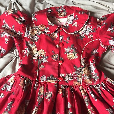 Girls Vintage Dress