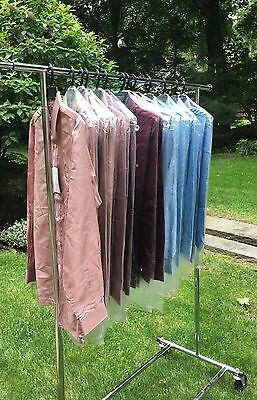 VTG 1970s MEN's Fuji Silk Polyester DEAD STOCK Lot of 13, Disco, Resale!