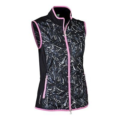 Ladies Daily Sports Marble Wind Vest