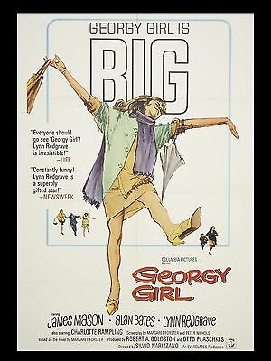 "Georgy Girl 16"" x 12"" Reproduction Movie Poster Photograph"