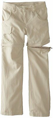 Columbia Girls Silver Ridge III Convertible Pant Youth, Fossil, X-Large