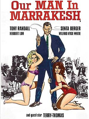 "Our man in Marrakesh 16"" x 12"" Reproduction Movie Poster Photograph"