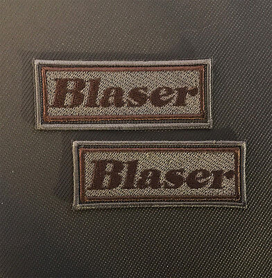 Blaser R8 R9 LRS K95 S2 QR embroidered patches badges