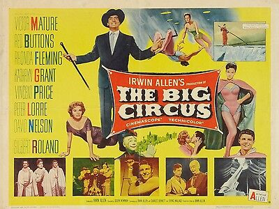 "The Big Circus 16"" x 12"" Reproduction Movie Poster Photograph"