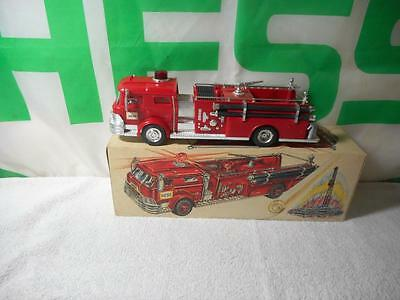 1970 Hess Fire Truck N/m, In Nice Box. Light Spins As Designed.