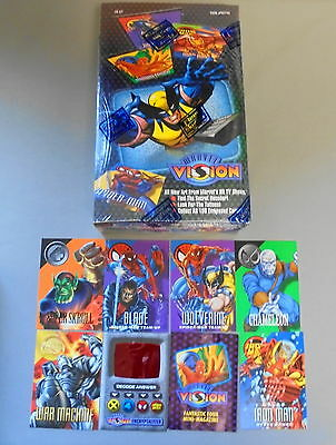 Fleer SkyBox 1996 MARVEL VISION Trading Card Box Sealed