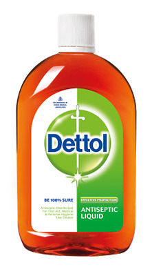 Dettol Antiseptic Liquid Soap First Aid Cleaner Disinfectant Tattoo - Free Ship