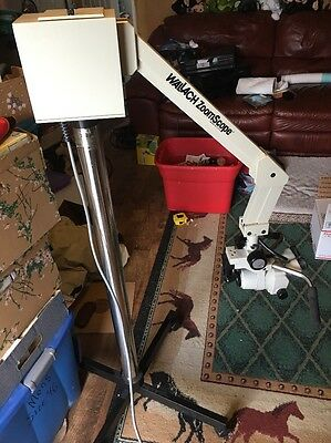 Wallach Nikon Zoomscope Zoom Scope Colposcope Nikon SMZ-1 Light Source + Stand
