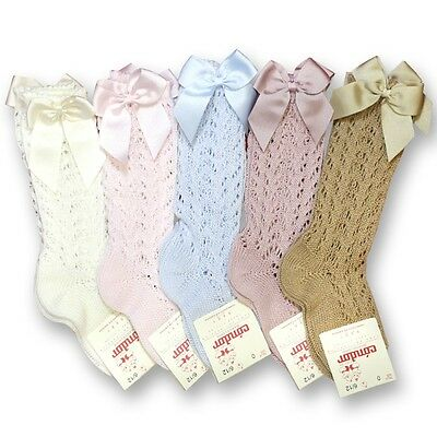 Traditional Spanish Summer Condor knee high socks, various colours & sizes!