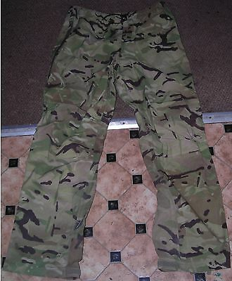 British Army Lightweight Waterproof Trousers Mvp,mtp Size Large Used
