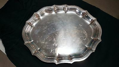 Chippendale International Silver Company #6343 tray