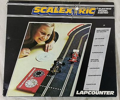 Vintage Scalextric C277 Lap Counter Boxed 1980s Hornby 12V