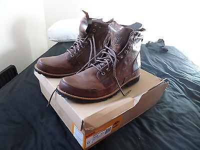 Mens Brown Timberland boots UK 14.5