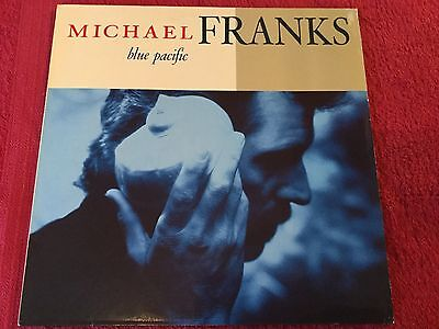 MICHAEL FRANKS - Blue Pacific - LP Record in Excellent Condition