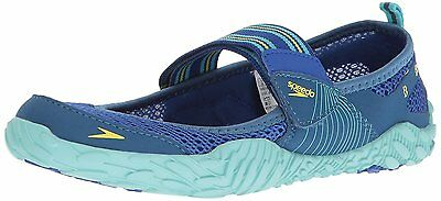 Speedo Womens Offshore Strap Athletic Water Shoe, Blue, 7 C/D US