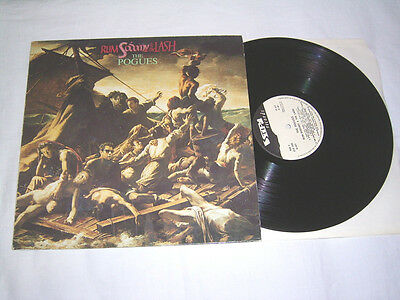 LP - Pogues Rum Sodomy & the Lash - 1985 Italy # cleaned