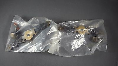 Lot of 2 Decorative Brass Drawer Pulls Cabinet Hardware New