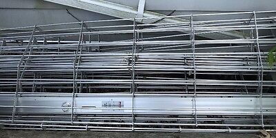 Rolling Security Fence Gate For Store Fronts Metro Door Cornell Metal Aluminum