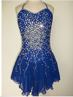 Skating / Dance / Twirling Dress - Gorgeous Blue