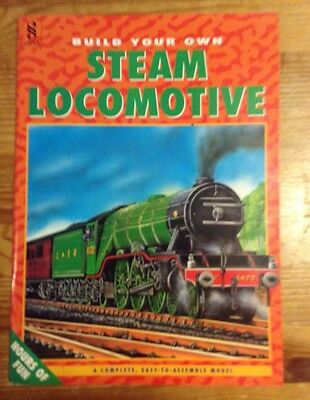 Build Your Own Steam Locomotive Paper Card Model by Parragon Books
