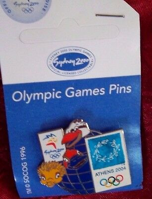 Sydney Olympic Games 2000 Mascot  - 2004 Athens Pin Badge