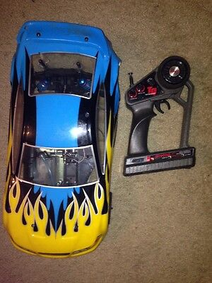 Used Nitro Rc Car On road  With Traxxas Remote 1/10