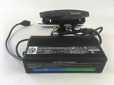 24V 4A Mobility Wheelchair Onboard Battery Charger HP8204B Lead-Acid VR2