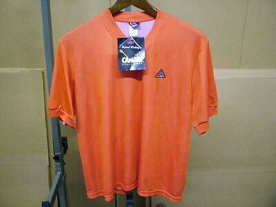 New-Old-Stock Red Orange Canari Cycling Jersey...Men s Medium c7e7253e5