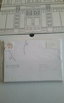 little white company planes cot bed pillow case BNWT