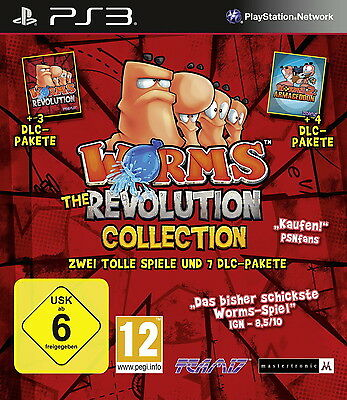 PS3 Worms: The Revolution Collection (Sony PlayStation 3, gebraucht mit OVP)