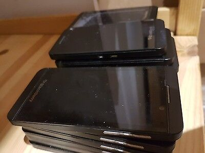 LOT OF 10 Blackberry bold Z10 STL100-3 Bulk WHOLESALE phone Good Working Clean