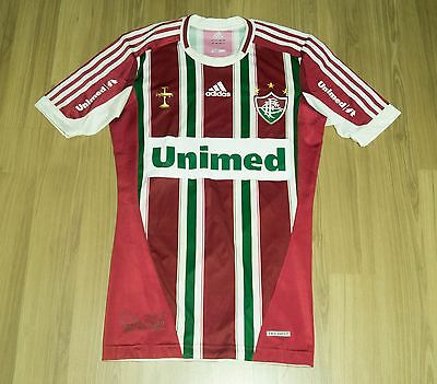 Adidas Fluminense Player issue Techfit Home jersey shirt
