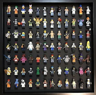 Minifigure Display Case - Holds 84 - Blackout