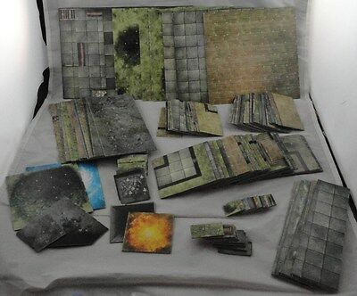 Dungeons & Dragons HUGE Double-Sided Dungeon Tiles Set (115 Tiles) D&D
