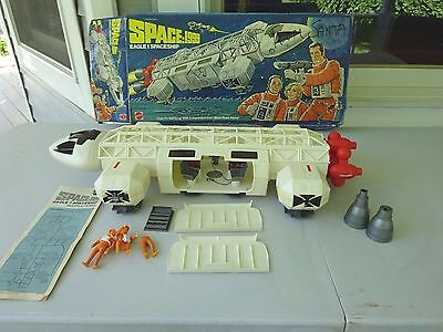 1976 Space 1999 Eagle 1 Spaceship with Box