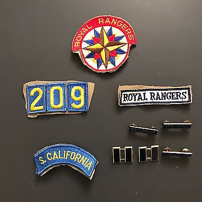 Southern California Royal Rangers SoCal Collectible Badges Patches And Pins Lot