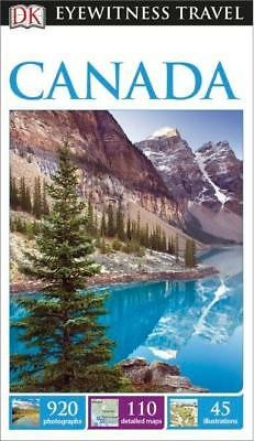 NEW Canada By DK Eyewitness Travel Guide Paperback Free Shipping